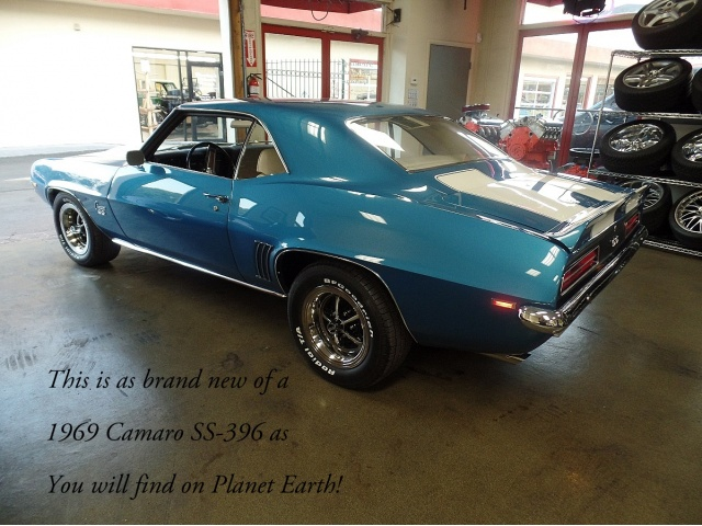 Brand New Rs Ss 69 Camaro Used Camaros For Sale