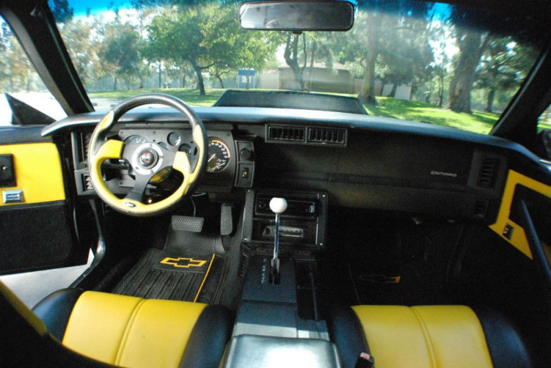 Bumblebee Retromod 85 Camaro With 1000 Miles On New High