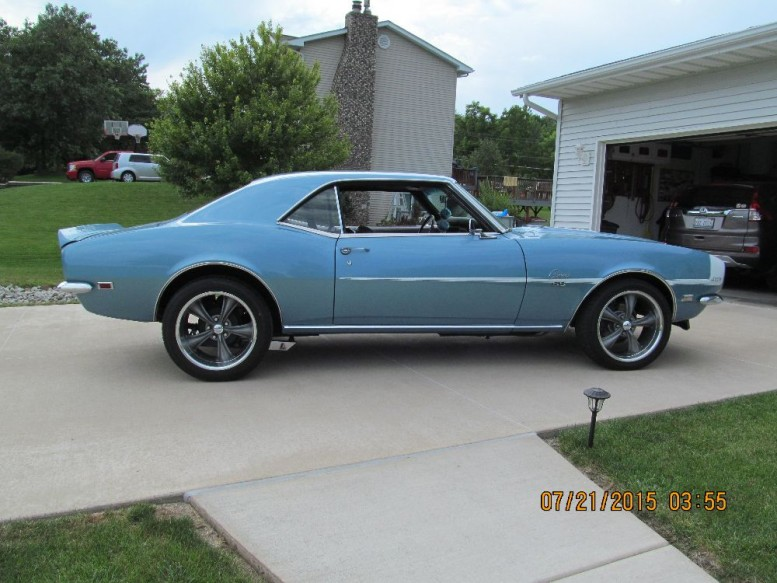 Absolutely Rust Free 68 Camaro With 427 Amp Tremec Used