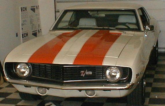 1969 Camaro 396 M21 4 10 12 Bolt Cowl Hood