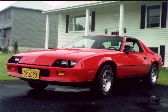 87 Red Camaro Coupe W Original 30k Used Camaros For Sale