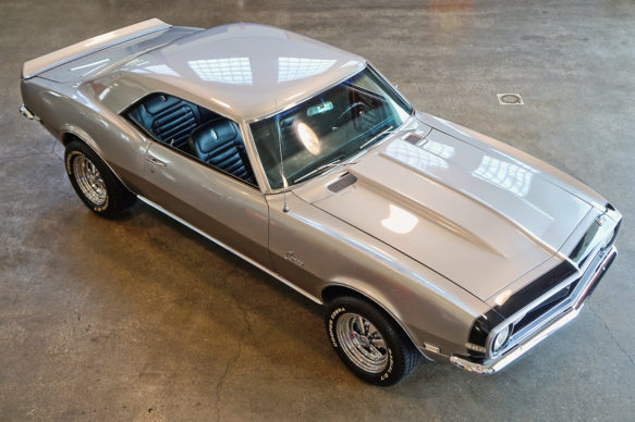 1968 Silver Camaro Used Camaros For Sale