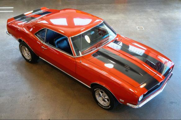 1968 Camaro Big Block Red Used Camaros For Sale