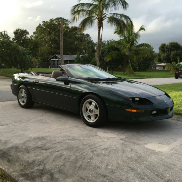 1995 chevy camaro convertible used camaros for sale. Black Bedroom Furniture Sets. Home Design Ideas