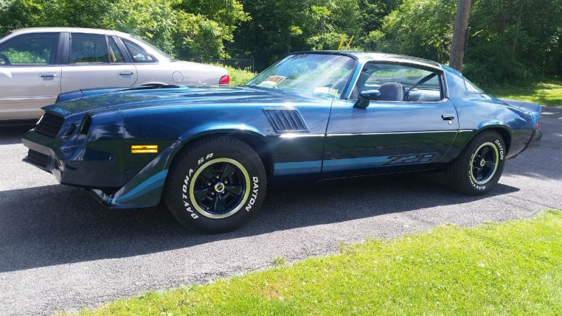 1979 Camaro Z28 All Stock And Original Paint Onlt 38800 Mi